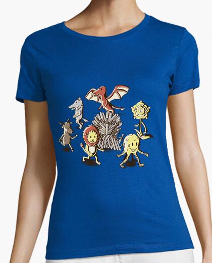 Tee-shirt chaises-shirt jeu femme