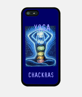 Chakras cas d'iphone de yoga