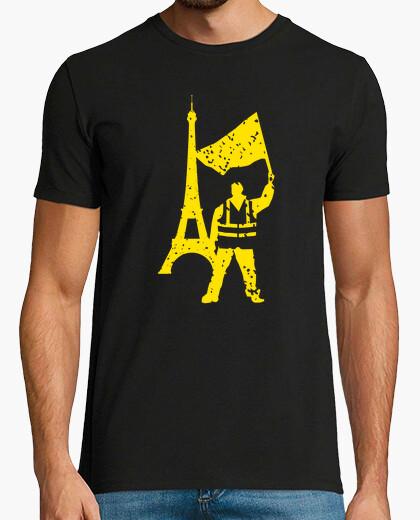 Camiseta chaleco amarillo protesta política