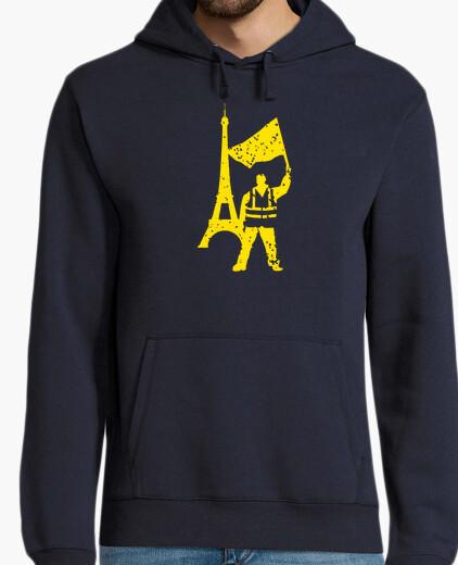 Jersey chaleco amarillo protesta política