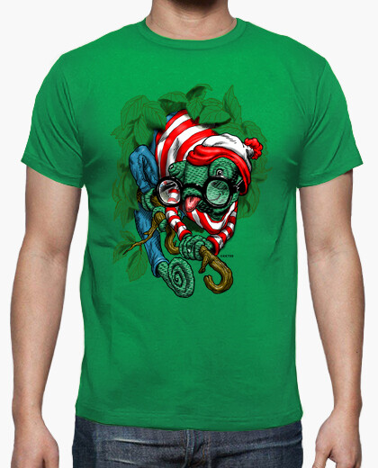 Chamaleon Wally camiseta