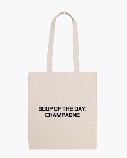 Bolsa Champagne Tote Bag