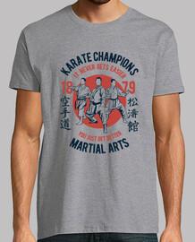 champions de karaté