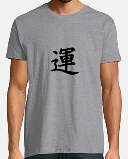 Chance en Kanji japonais