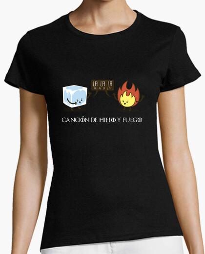 Tee-shirt chanson de glace et de feu - shirt femme