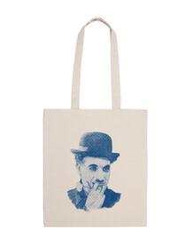 Chaplin Bolsa tela 100 algodón