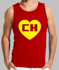 Chapulin Colorado Chespirito Hombre, sin mangas, roja