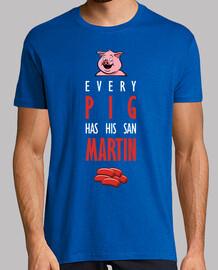 chaque cochon obtient son san martin