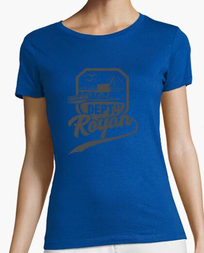 Tee-shirt Charente Maritime Blason Royan