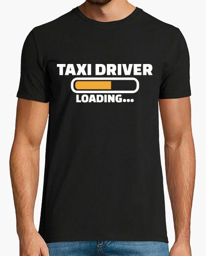 Tee-shirt chargement de chauffeur de taxi
