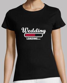 chargement de mariage