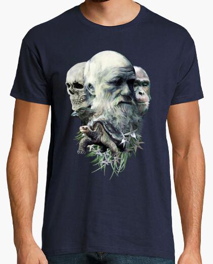 T-shirt charles darwin v01