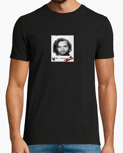 Camiseta Charles Manson (polaroid)