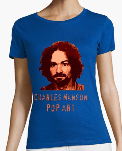 Camiseta Charles Manson Pop Art by Varius
