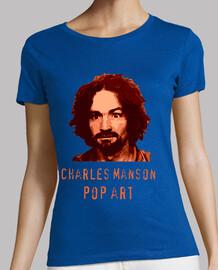 Charles Manson Pop Art by Varius