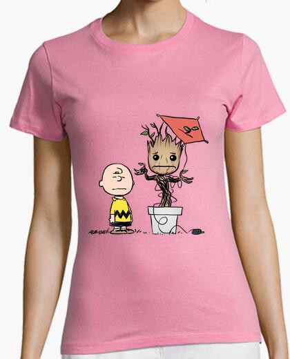 Camiseta charles y groot