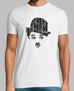 charlie chaplin. t-shirt