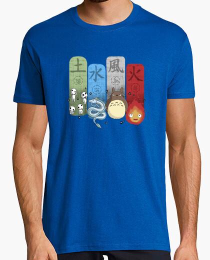 Tee-shirt Charmes élémentaires Ghibli