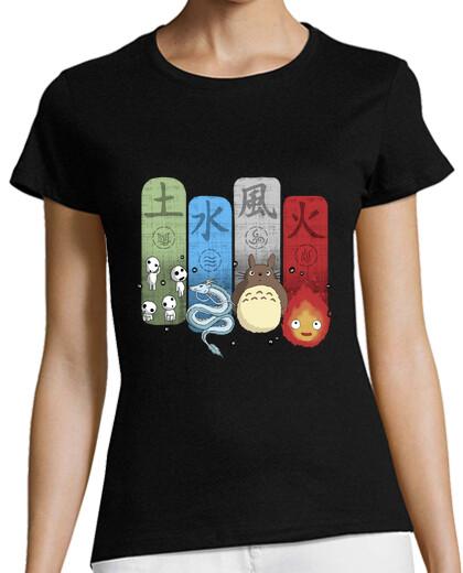 Voir Tee-shirts femme manga