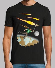 chassant les météores