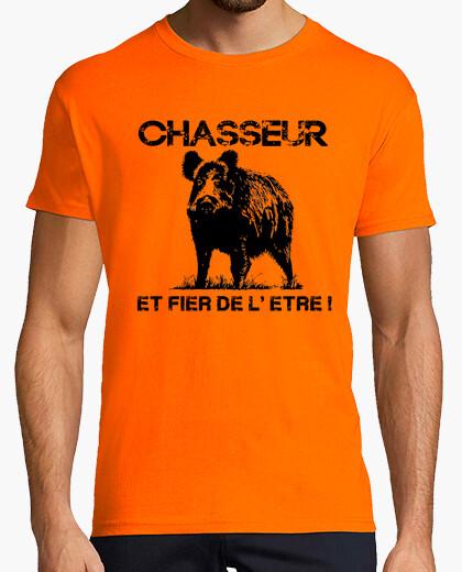 Tee-shirt Chasseur et fier de l'etre