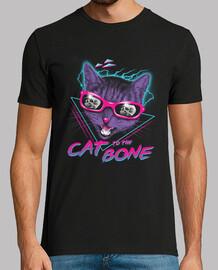 chat à la chemise osseuse hommes