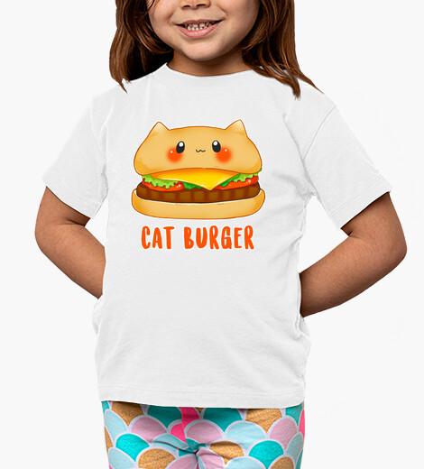 Vêtements enfant chat burger