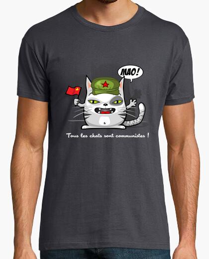 Tee-shirt Chat communiste