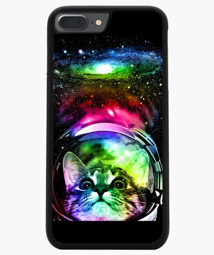 Coque Iphone 7 Plus / 8 Plus chat cosmos