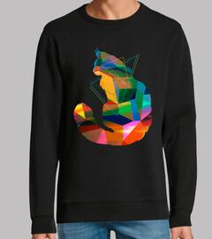 chat cubisme