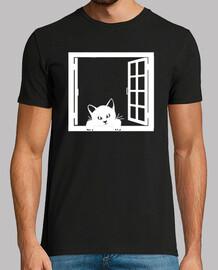 chat dans la fenêtre 1