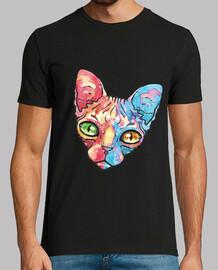 chat de couleur