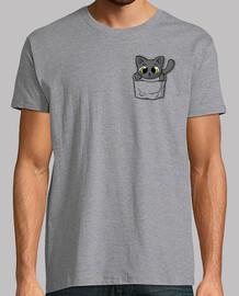 chat de poche noir mignon