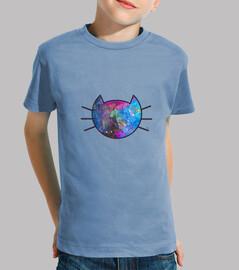 chat galaxie (bordure noire)