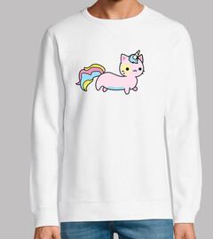 chat licorne mignon