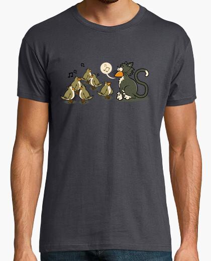 Tee-shirt Chat Malin