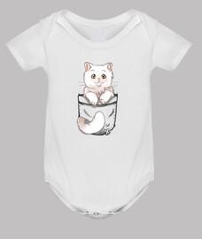 chat mignon de poche persan