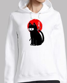 chat ninja noir
