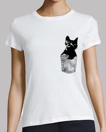 chat noir dans la poche
