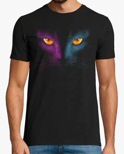 Tee-shirt chat rétro