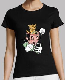 chat règles chemise femme