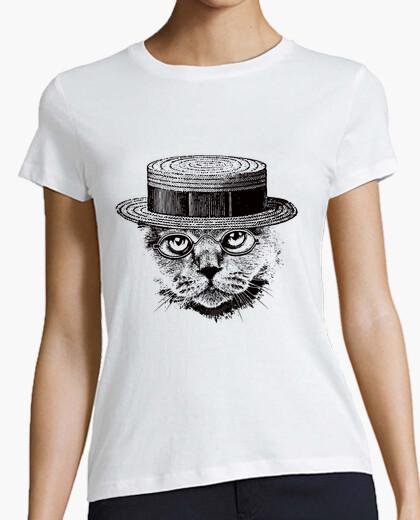 Tee-shirt chat sérieux sophistiqué