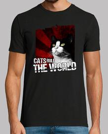 chats gouvernent le monde