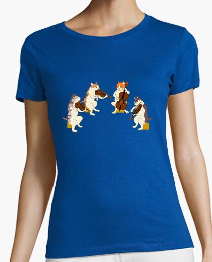 Tee-shirt chats musicaux