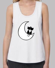 chats sur la lune