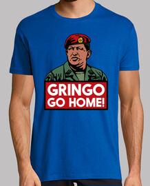 Chávez, Gringo go home!