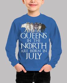 che born nel north a luglio