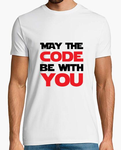T-shirt che il codice sia con voi