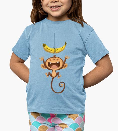 Abbigliamento bambino che scimmia! - t-shirt bambino