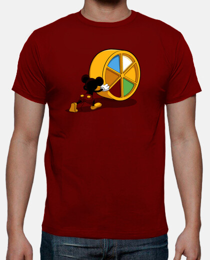 Camisetas Cheese Pursuit